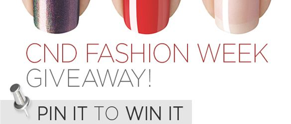 Pin It to Win It: New York Fashion Week Giveaway on Pinterest