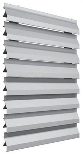 Celos a fija aluminio cf 100 celosias aluminio - Celosia de aluminio ...