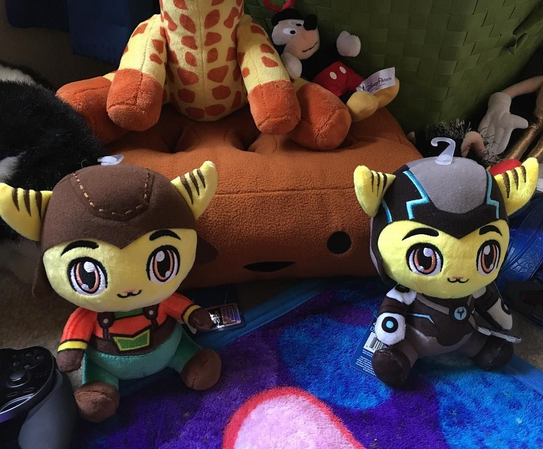 Ratchet Clank Plush Toys Game Character Ratchet Video Game