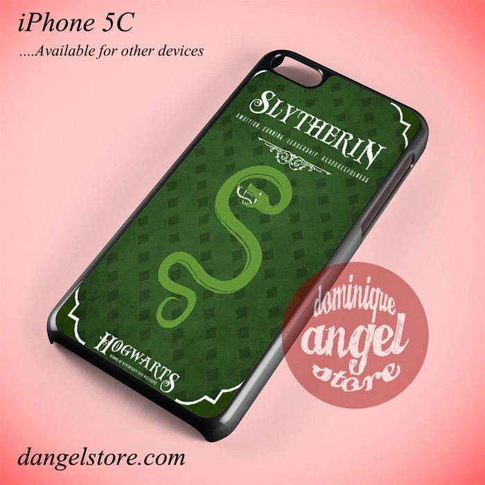 Hogwarts Slytherin Phone case for iPhone 5C and another iPhone devices