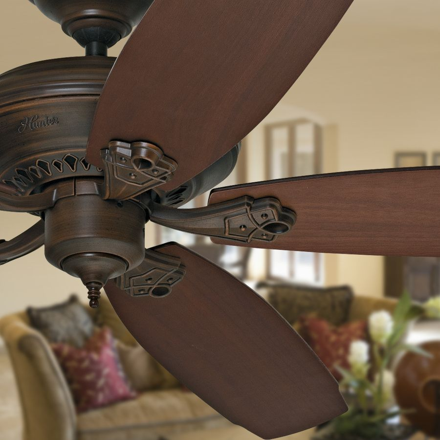 Shop prestige by hunter headley 64 in cocoa downrod mount ceiling shop prestige by hunter headley 64 in cocoa downrod mount ceiling fan energy star at aloadofball Image collections