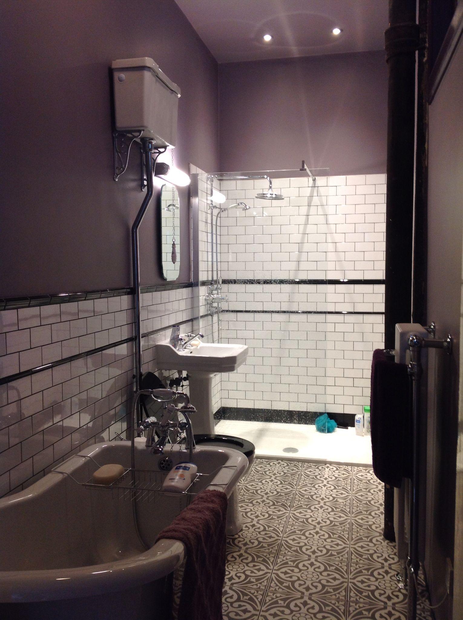 Bathroom Mirrors Glasgow Long Narrow An Extremely Long And Narrow Bathroom In A Top Floor