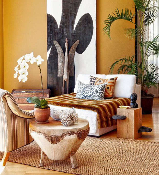 African Inspired Interior Design Ideas: African Home Decor, African