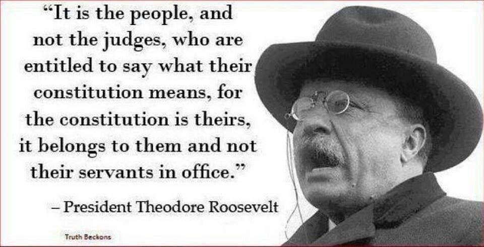 -Theodore Roosevelt