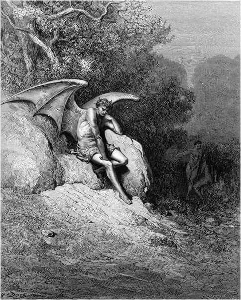 satan in eden gustave dore art gustave dore satan in eden gustave dore 1866 gustave doreclip artessay questionsparadisesample resumelostdark