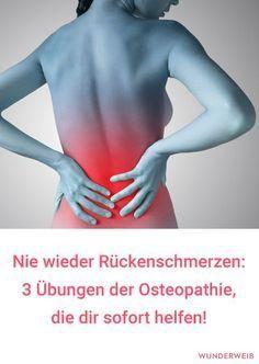 osteopathie 3 bungen f r den r cken sport pinterest gesundheit r cken und bungen. Black Bedroom Furniture Sets. Home Design Ideas