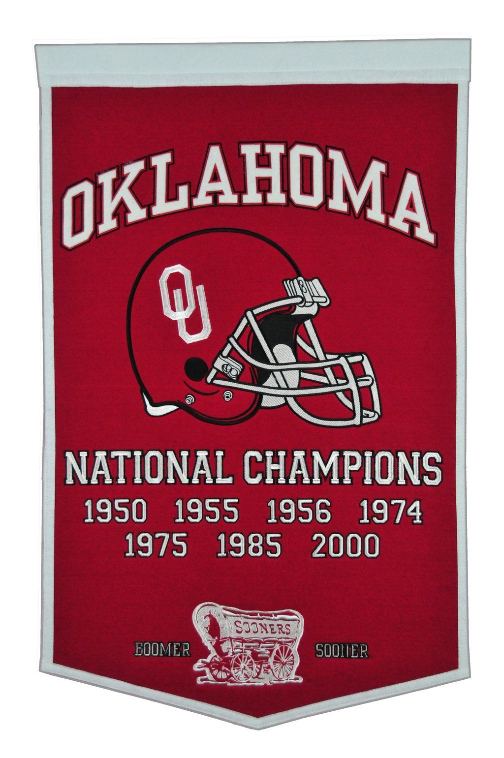 University of Oklahoma Vintage Wool Dynasty Banner With