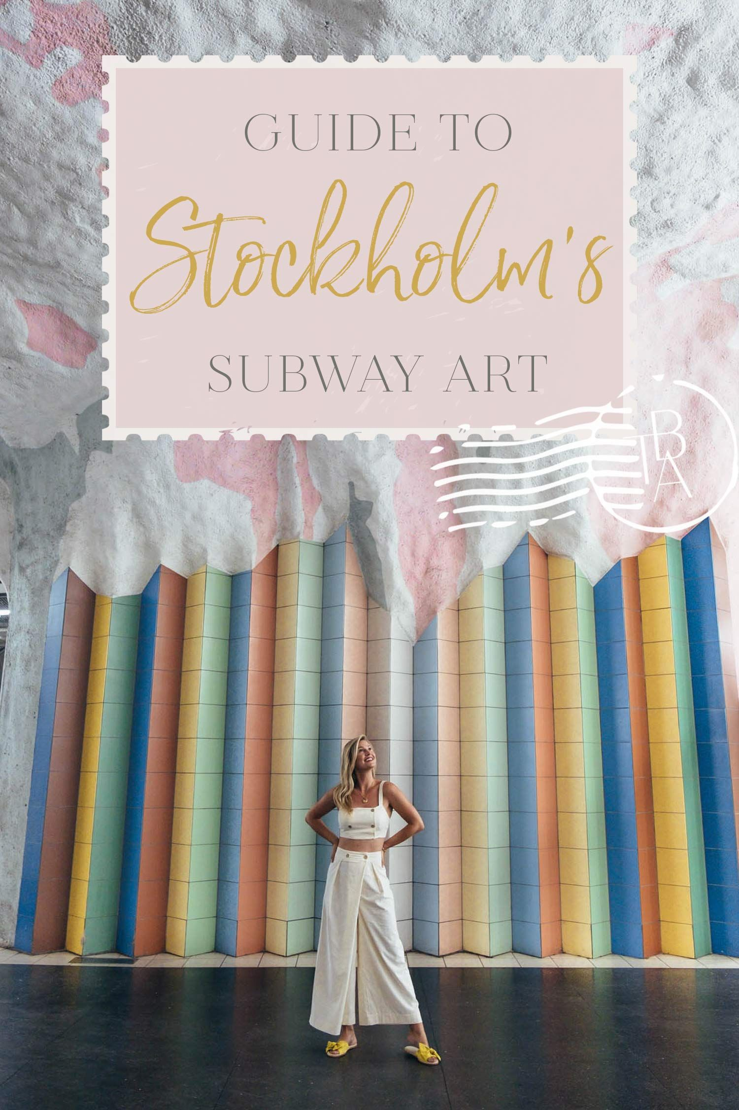With a history of over 750 years,Stockholmis a fascinating European destination. It's restaurants whip up inventive dishes, there are beautiful parks to explore, and the city has an incredible art scene – in the subway. I've narrowed it down to nine of my favorites that showcase some of the best art there is to see.Here's my guide to Stockholm's subway art! | Sweden travel tips | Stockholm travel tips | #sweden #europetravel #stockholm