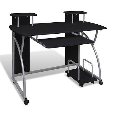 Computertisch Schreibtisch Buro Mobiler Computerwagen Pc Tisch Laptop Schwarz Ssparen25 Com Sparen25 De Spa Computertisch Computer Wagen Schreibtischideen
