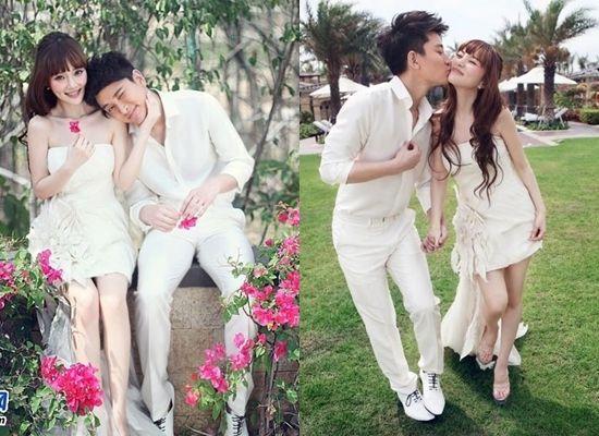 Những bộ ảnh cưới đẹp như mơ của sao Hoa ngữ