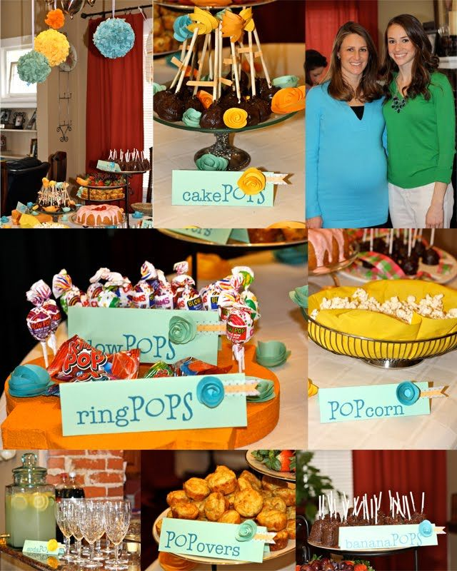 Common Baby Shower Foods Part - 31: Ready To POP! Baby Shower Iu0027m Sure One Day Iu0027ll Throw