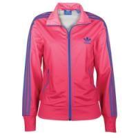 adidas originali firebird traccia giacca donne blaze rosa