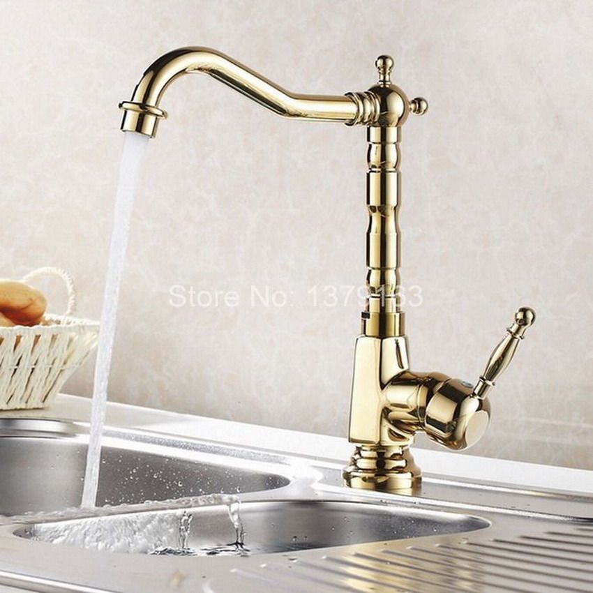 Greenspring Kitchen Sink Faucet Copper Traditional Period Single Ceramic Lever