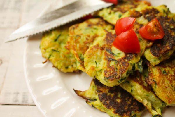 Gluten Free Zucchini Latkes with Paleo Option  Recipes