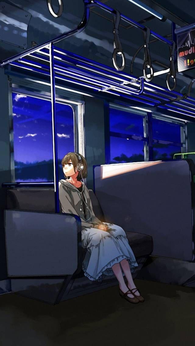 Kurono Kuro Anime Girl Wagon Sad Anime Manga Wallpapers For
