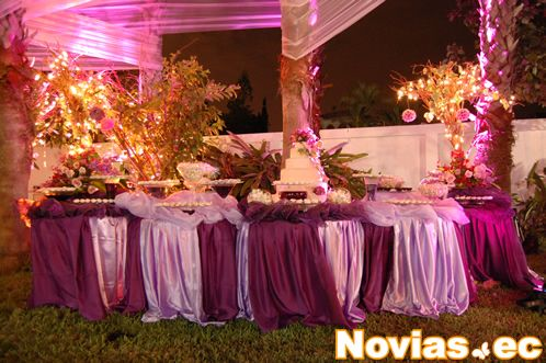 Decoracion para mesa de bodas led lighting wedding - Decoracion de mesa para bodas ...