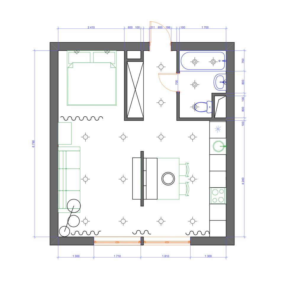 Как обустроить трешку на 30 квадратных метрах: пример из ...