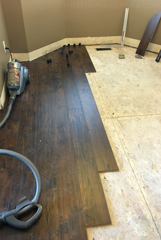 Select Surfaces Laminate Flooring Installation Laminate