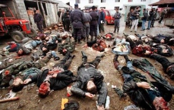 a history of violence in kosovo The chapter compares the inability of the milošević trial to engage kosovo   and official denial of atrocity, creating an historical record, preventing violence  and.