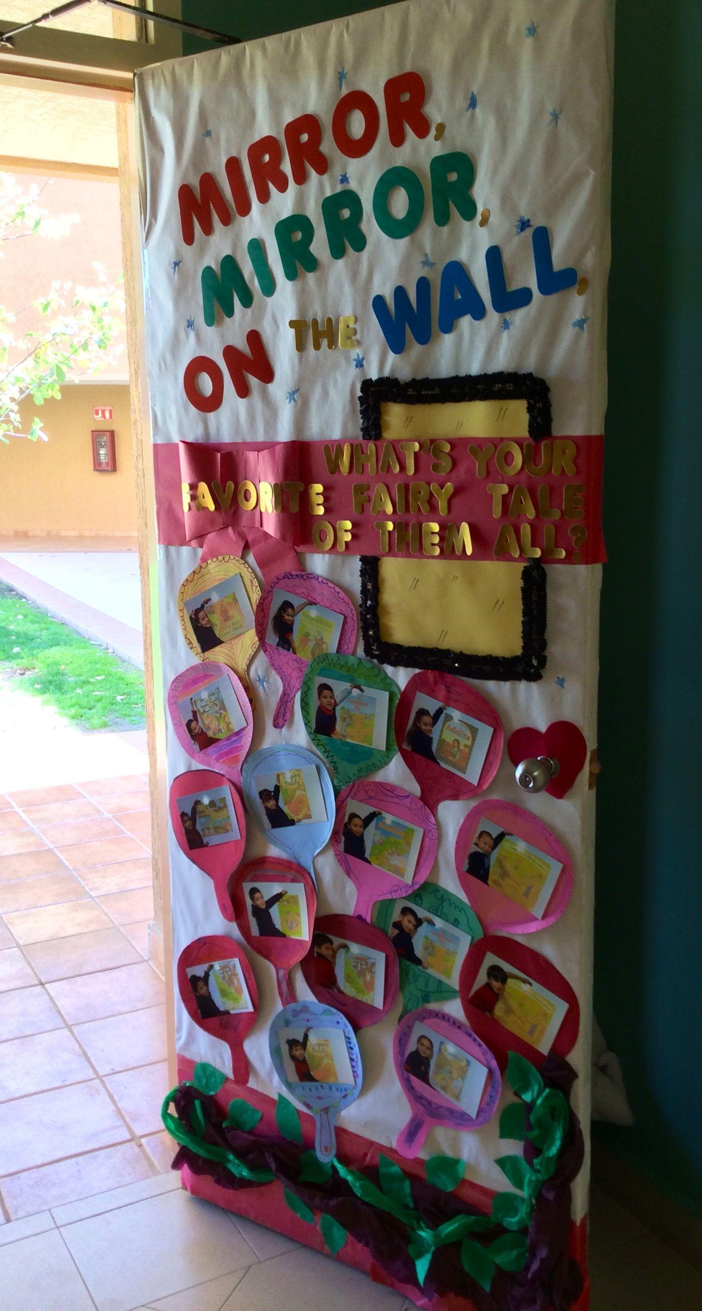 Fairy Tale Theme On Our Door