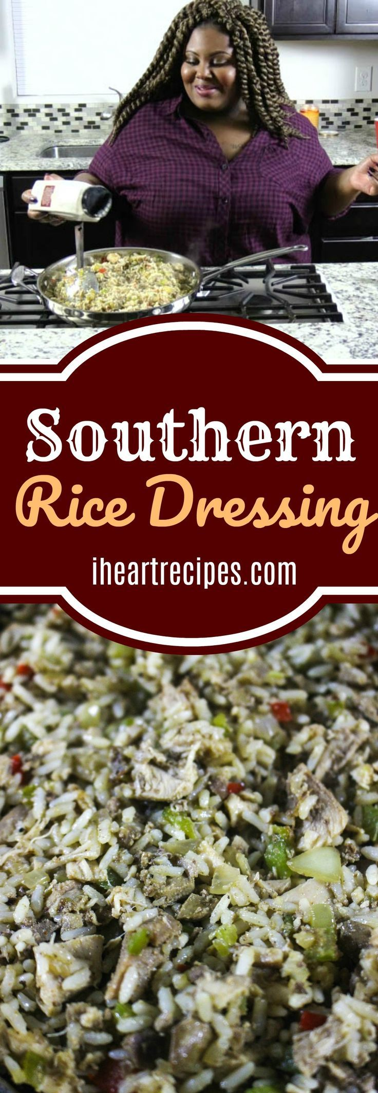 Photo of Southern Style Rice Dressing | I Heart Recipes