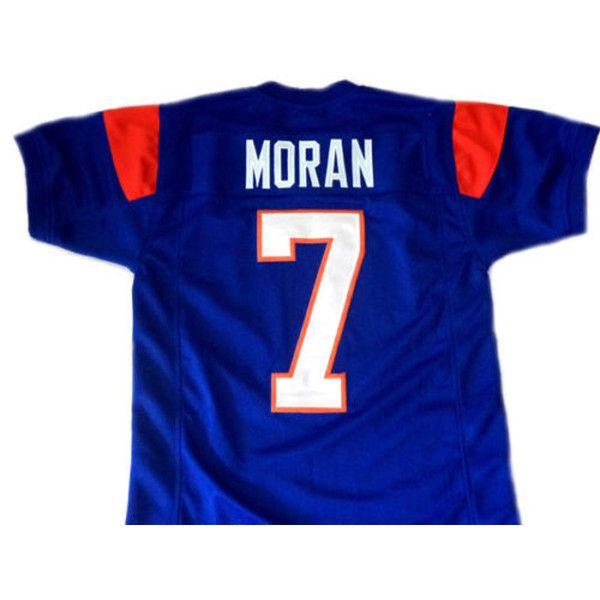 5ba44344e7a Alex Moran #7 Blue Mountain State Football Blue Jersey Men's Adult Costume