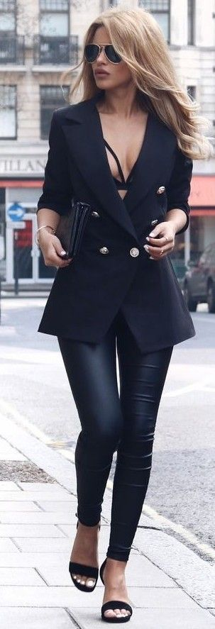 All Black + Tailored                                                                             Source
