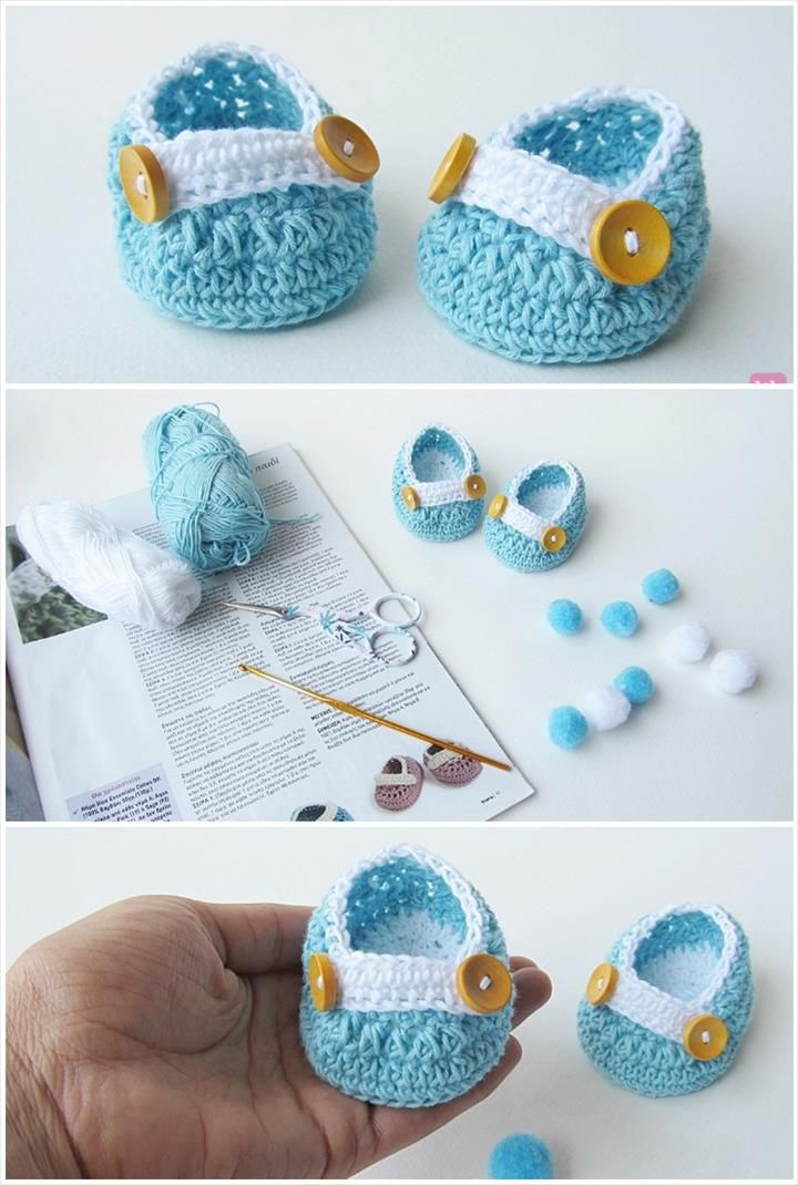 Crochet Baby Booties Top 40 Free Crochet Patterns Pinterest