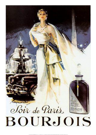 Soir De Paris IV Print