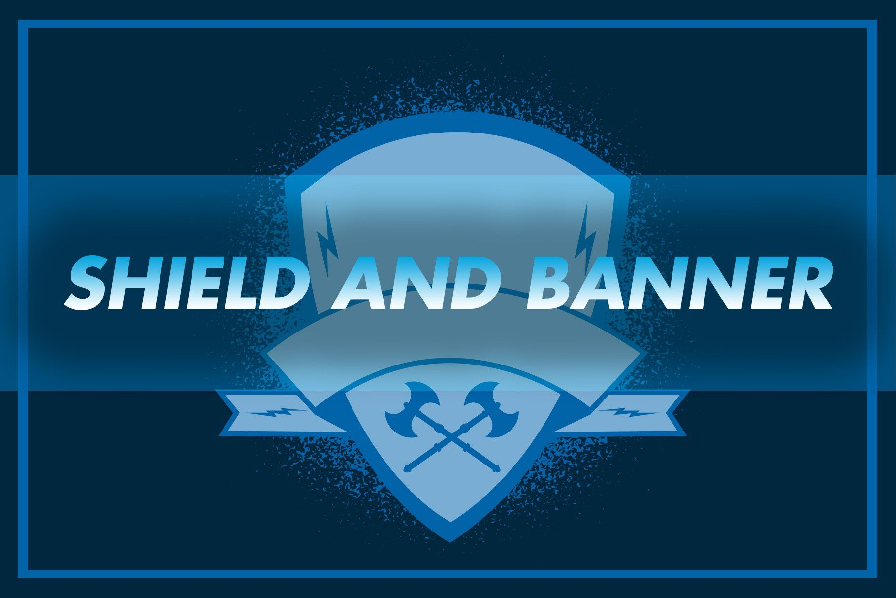 Shield And Banner Vector Banner Vector Banner Shield