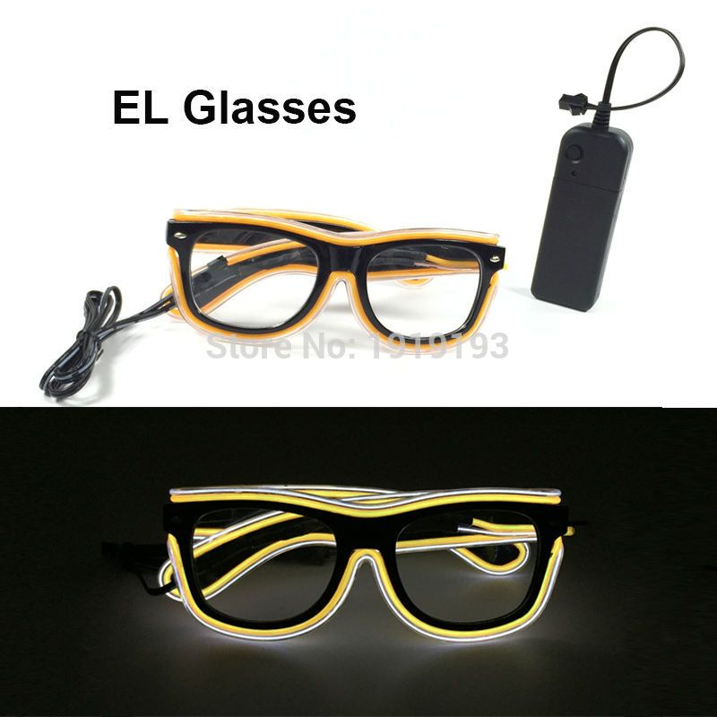 Newest Design Lovely Colorful LED Strip Sunglasses Holiday Lighting ...