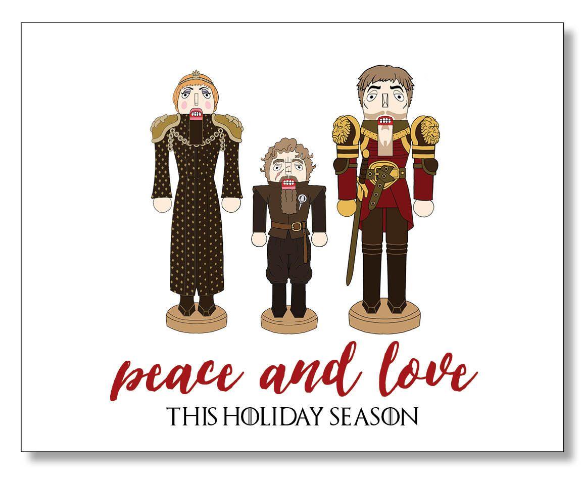 Game of Thrones Christmas Card - Nutcracker Christmas Cards ...