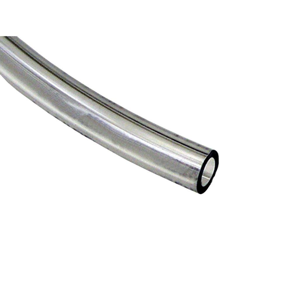 Sioux Chief 1 2 In X 10 Ft Clear Pvc Tubing 900 01203c00101 The Home Depot Clear Vinyl Pvc Tube Pvc