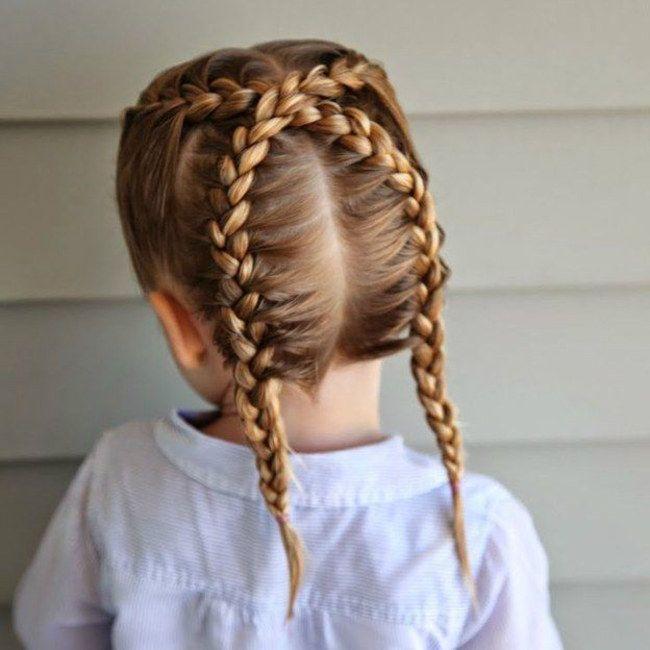 20 peinados para ni as que tienes que probar con tu hija - Peinados para nina ...