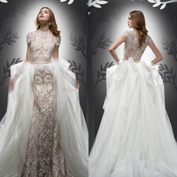 Two Gowns in One! 26 Fashion-Forward Convertible Wedding Dresses You ...