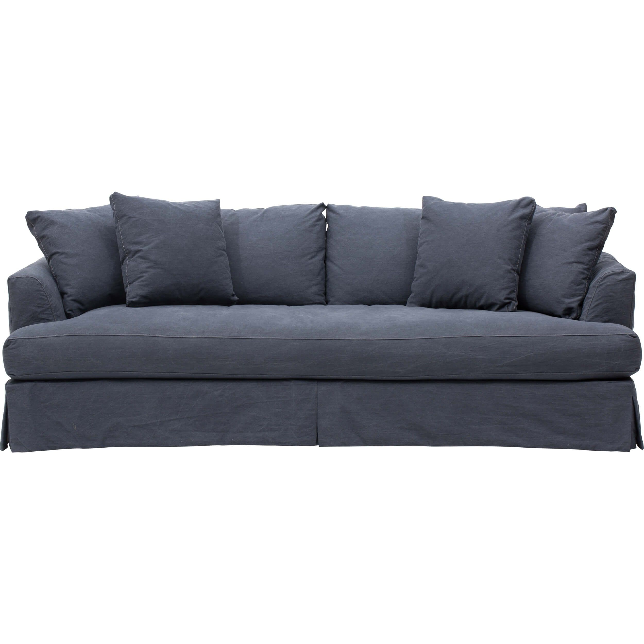 Aston Slipcover Sofa Denim Twilight