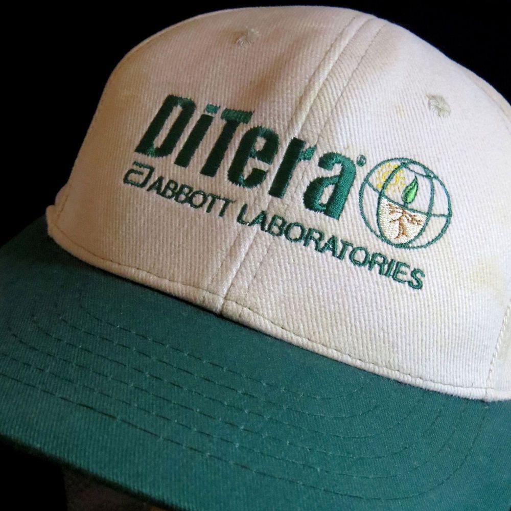 DiTera Abbott Laboratories Adjustable Hat Cap Science