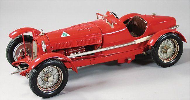 Pocher 1:8 Stoff Stofftür K78 Alfa Romeo 8C 2300 Monza Muletto 78200 E7