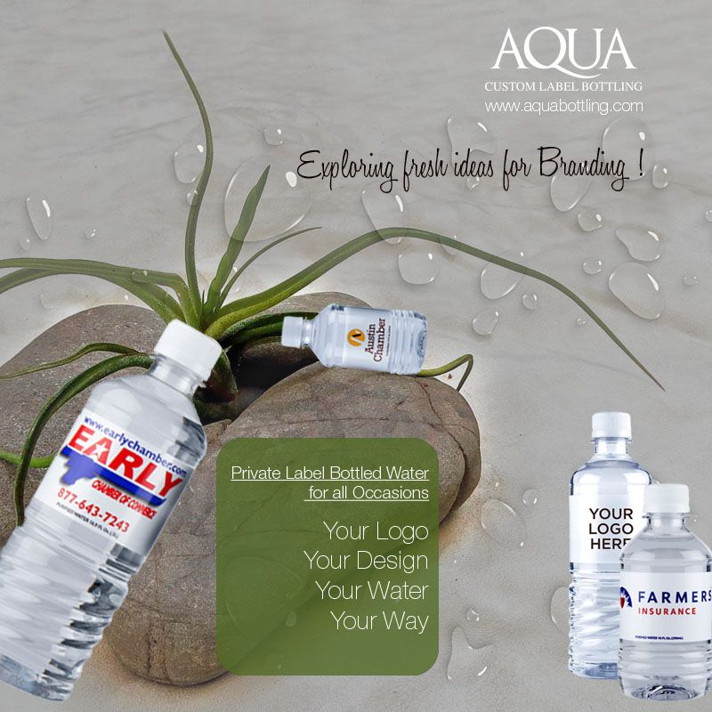 Aquabottling gives you a new way of advertising your business and promoting…