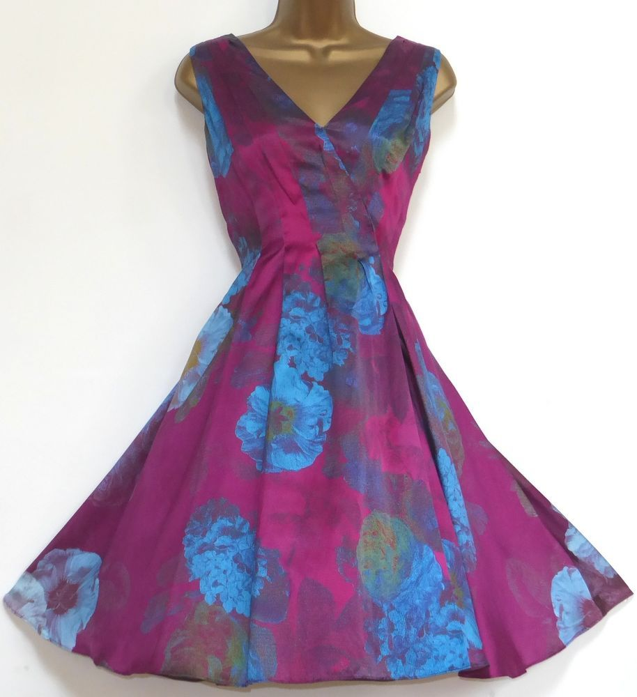 Silk summer dresses uk