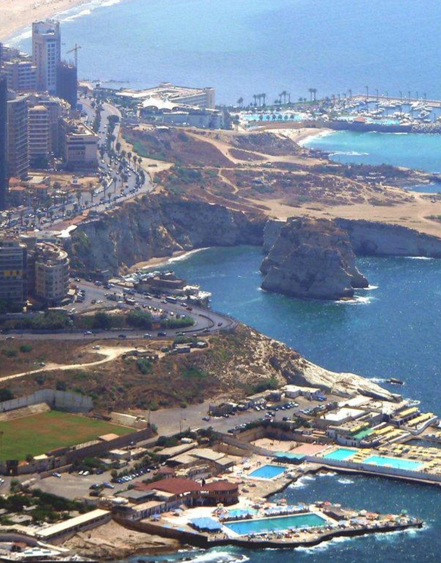 Rawsha Rock Beirut Places To Visit Beirut Beirut Lebanon