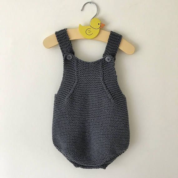 Baby Romper Handmade Newborn Outfit Knitted Summer Romper