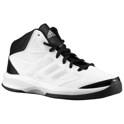 best loved a2a1a df5f3 ... sale adidas isolation mens basketball shoes white metallic silver black  8b267 deb4c