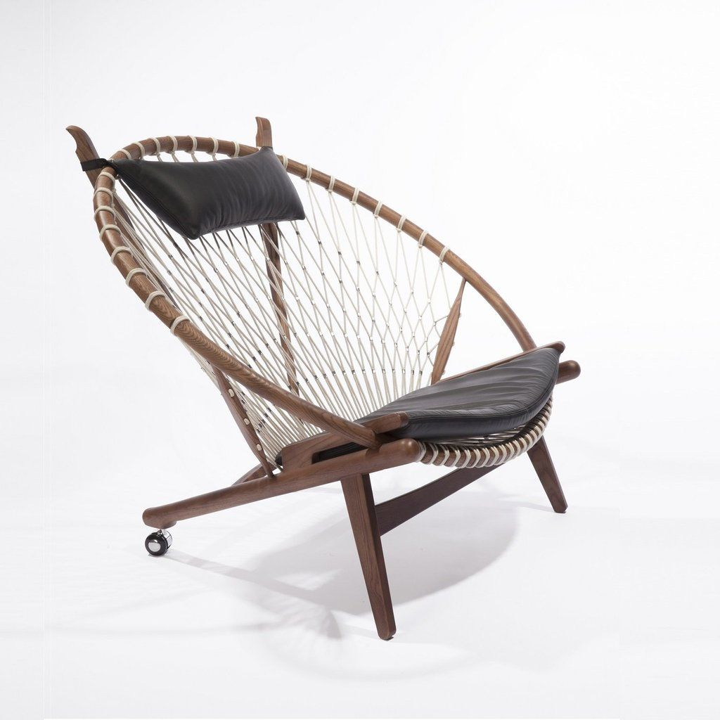 MidCentury Modern Reproduction PP130 Circle Hoop Chair