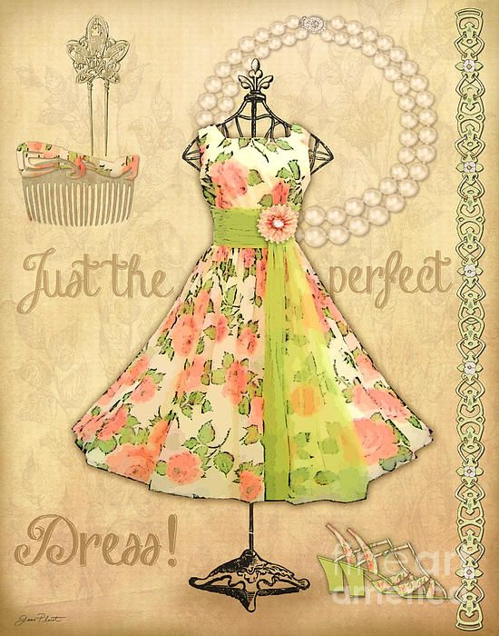 Vintage Party Dress A By Jean Plout In 2020 Vintage Party Dresses Vintage Paper Vintage