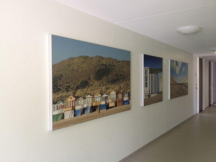 Wanddecoratie Op Doek.Print Op Textiel Print Op Doek Textiel Frame Wanddecoratie