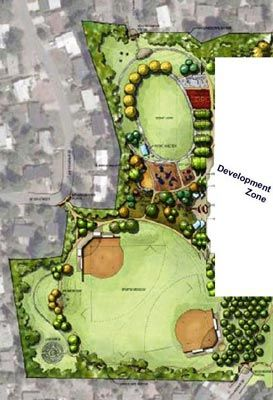 Park Rendering Example Graphic From Surrey Downs Park Master Plan Landscape Architecture Graphics Architecture Graphics Landscape Architecture
