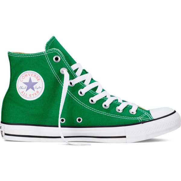 wholesale dealer bd842 7fd84 Converse Chuck Taylor All Star Lovejoy – boston green ( 70) ❤ liked on  Polyvore featuring shoes, sneakers, converse, trainers, boston green,  striped shoes, ...