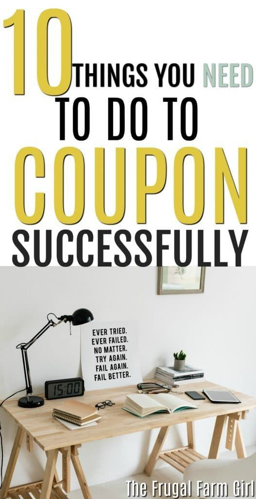 10 Things You Need to Do to Coupon Successfully#coupon #successfully
