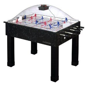 Amazon Com Carrom 415 Super Stick Hockey Table Sports Outdoors Air Hockey Tables Poker Table Air Hockey